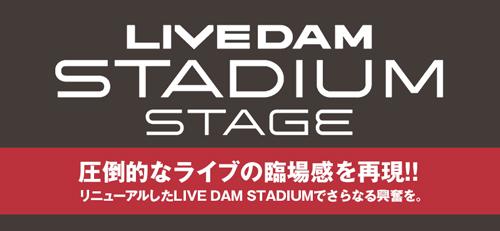 LIVE DAM STADIUM STAGE